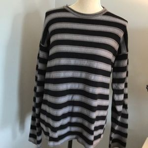 Armani stripe knit sweater